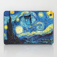starry night iPad Cases featuring STARRY by MiliarderBrown