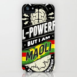 Maoli Pride Region and State iPhone Case
