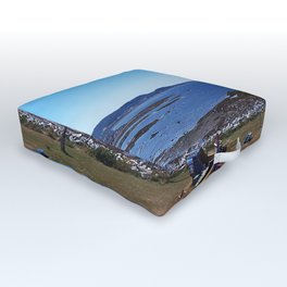 Sea View from the Watchtower Outdoor Floor Cushion
