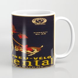 Vintage poster - Continental Bicycles Coffee Mug