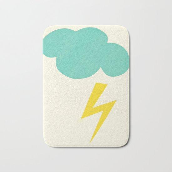 Lightning Strike Bath Mat
