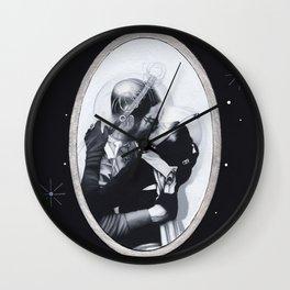 Interplanetary Romance Wall Clock