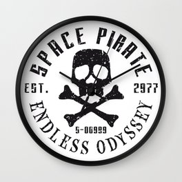 Space Pirate – Endless Odyssey Wall Clock
