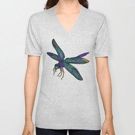 Pretty Fly For A Dragonfly Unisex V-Neck
