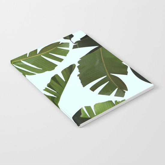 Palm Pattern Notebook