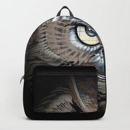 Owl drawing bird art eagle Backpack