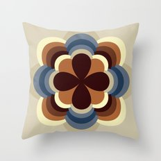 A kind of flower Throw Pillow