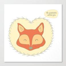 Mr. Foxy Canvas Print