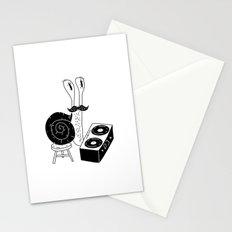DJ Snail Stationery Cards