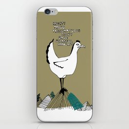 Cocky Cock iPhone Skin
