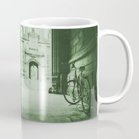 jewish Mugs featuring Break Time by Brown Eyed Lady