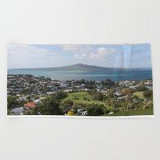 Rangitoto Island Auckland Beach Towel