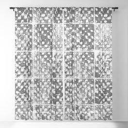 Crochet Impressions: GRANNY Sheer Curtain