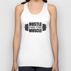Hustle For The Muscle Unisex Tank Top