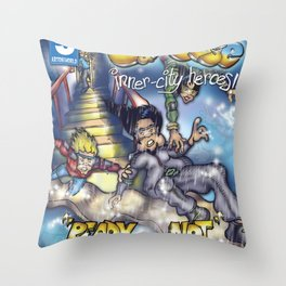Ready or Not - Here we come! Throw Pillow