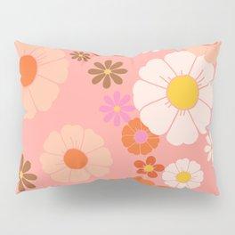 Groovy 60's Mod Flower Power Pillow Sham