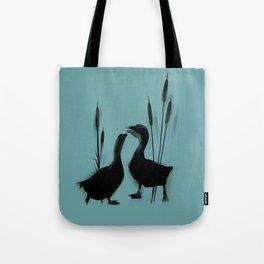 Goose love  Tote Bag