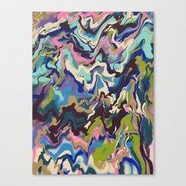 Techno Wave Canvas Print