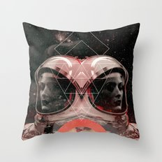 Dreams of space Throw Pillow