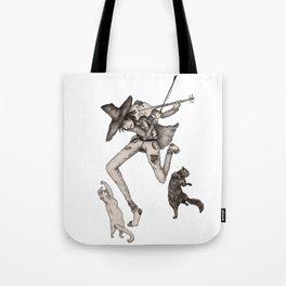 Fiddler Tote Bag