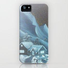 Mountain Hideaway iPhone Case