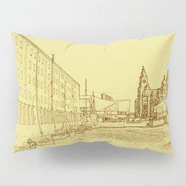 Albert Dock, Liverpool (Digital Art) Pillow Sham