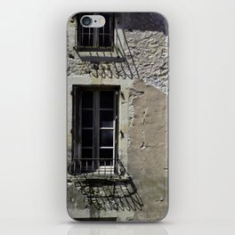In France, by the window. iPhone Skin