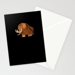 Woolly Elephant Prehistoric Mesolithic Gift Stationery Cards
