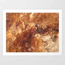 Martian soil Art Print