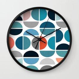 impressive colors Wall Clock