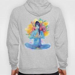 Namaste Watercolor Hoody