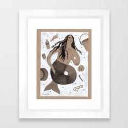 Siren of the Ohio River Framed Art Print