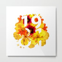 Flower 1981 Metal Print