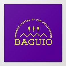 Philippine Series - Baguio Canvas Print