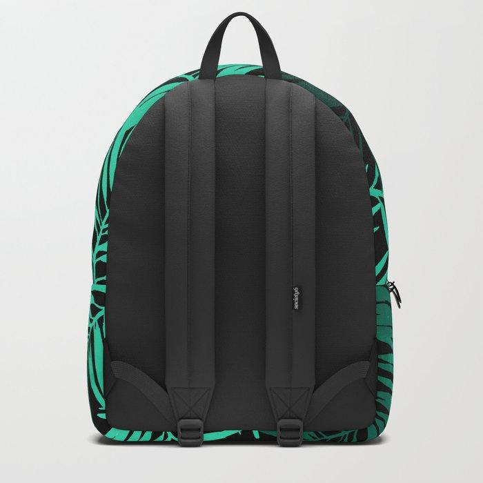 Tropical Palm Leaves II Backpack