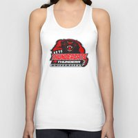 thundercats Tank Tops featuring  thundera university by Buby87