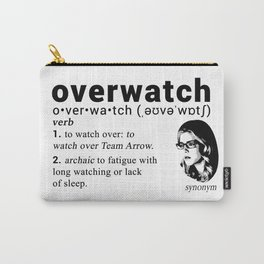 Felicity Smoak - Codename Carry-All Pouch