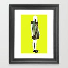 last fire Framed Art Print