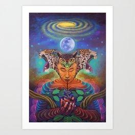 Sagradas Arkanas Art Print