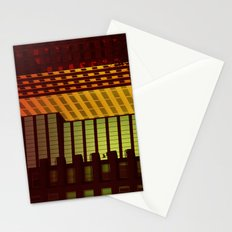 It's all Shapes and Colors - Downtown Los Angeles #68 Stationery Cards