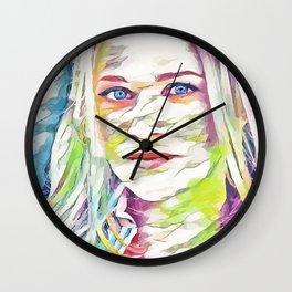 A.J. Cook (Creative Illustration Art) Wall Clock