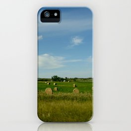 Summertime in WaterValley iPhone Case