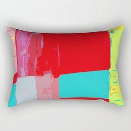 Fruit Salad yoga mats/ yoga room Rectangular Pillow