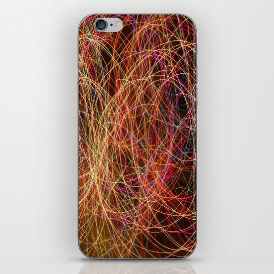Lightpainting iPhone Skin