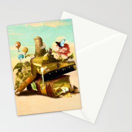 To Lands Away Stationery Cards