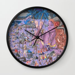 The Summer Inferno Wall Clock