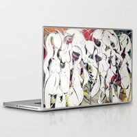 women Laptop & iPad Skins featuring women by KA Art