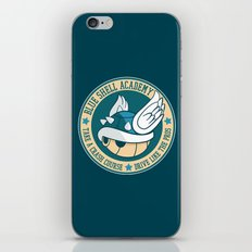 Blue Shell Academy iPhone & iPod Skin