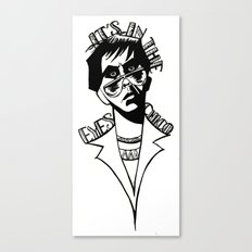 It's In the Eyes Chico Canvas Print