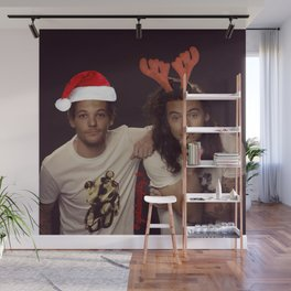 Funny Larry Stylinson Christmas Wall Mural